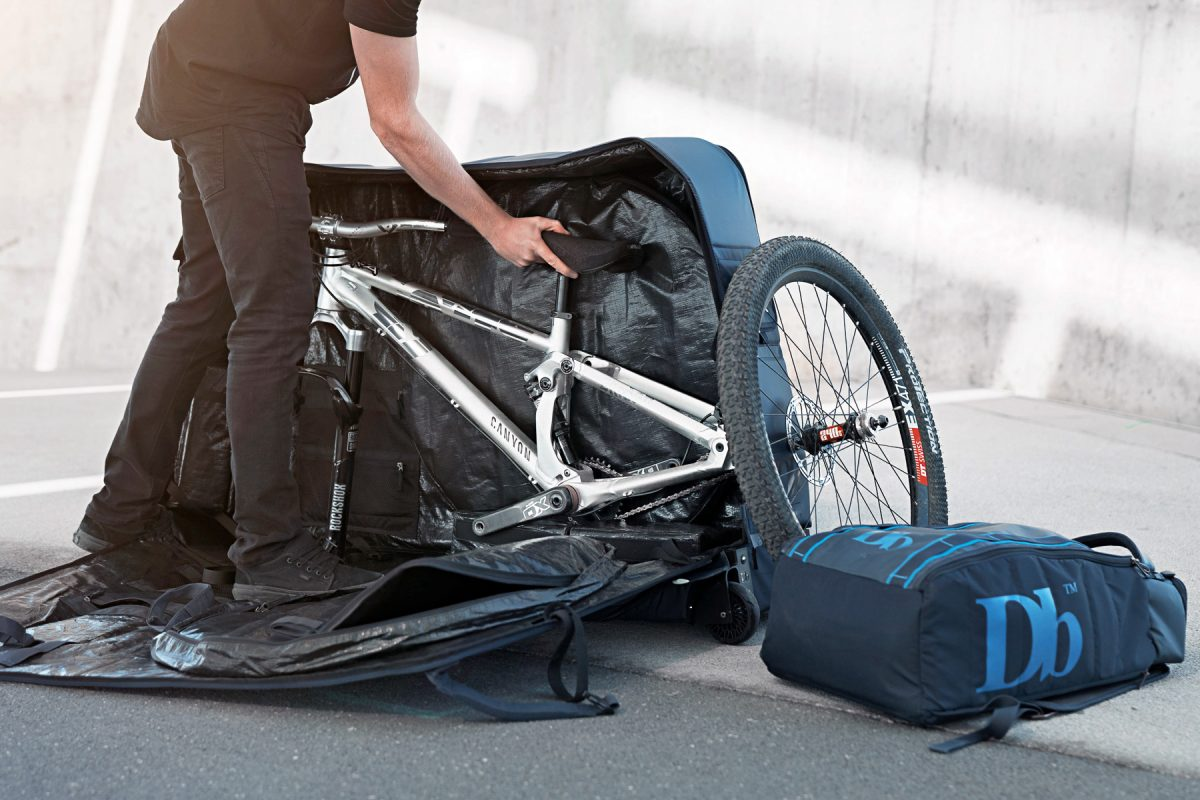 Db Equipment The Trail Packs Up Mountain Bikes In New Hybrid Soft Hards Travel Bag