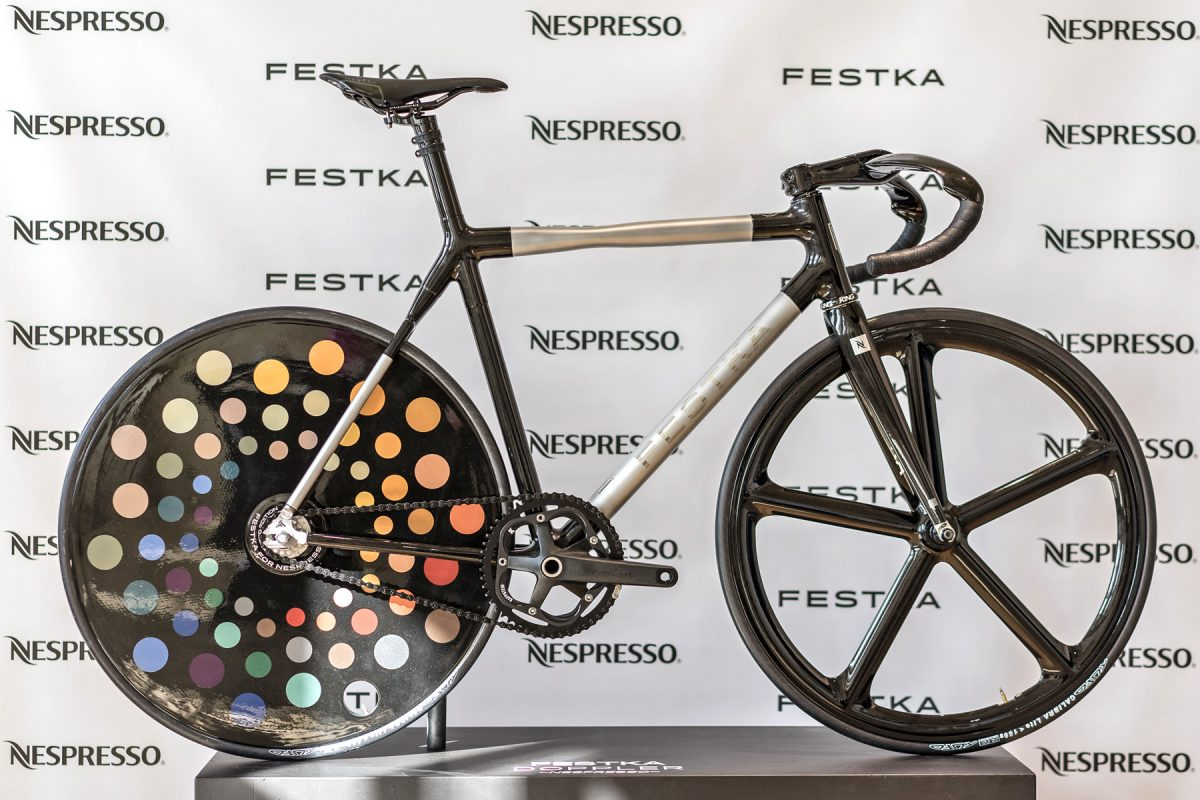Festka turns recycled coffee capsules into a Nespresso bike for ...