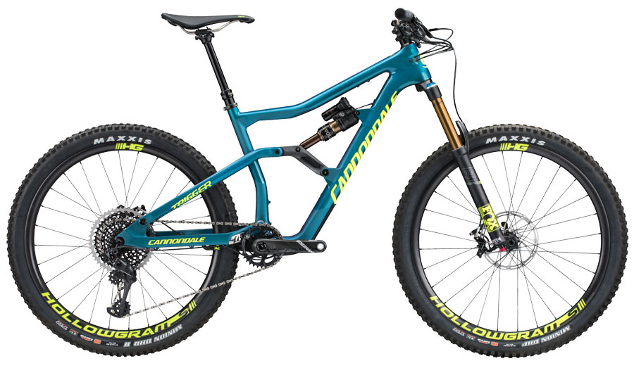 a964df45c8a 2018 Cannondale Jekyll & Trigger mountain bikes - full specs ...