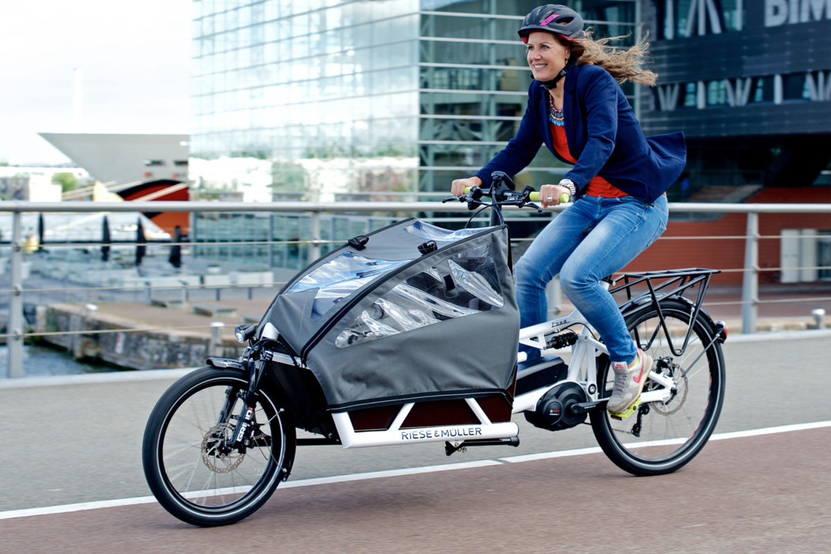 Ditch the minivan for a Riese u0026 Muller Load full-suspension dual battery e-cargo bike - Bikerumor  sc 1 st  Bikerumor & Ditch the minivan for a Riese u0026 Muller Load full-suspension dual ...