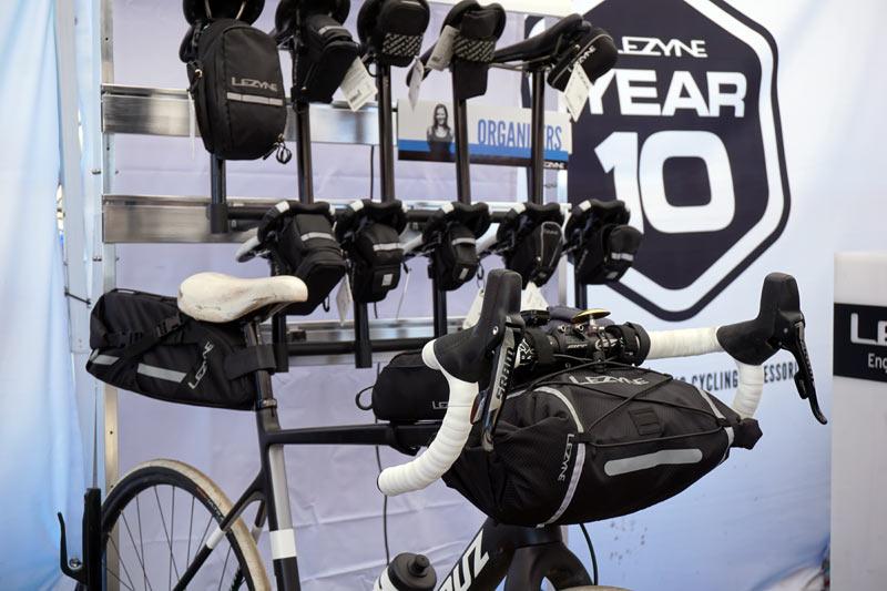 Soc17 Lezyne Teases Light Duty Bikepacking Bags More Colors For