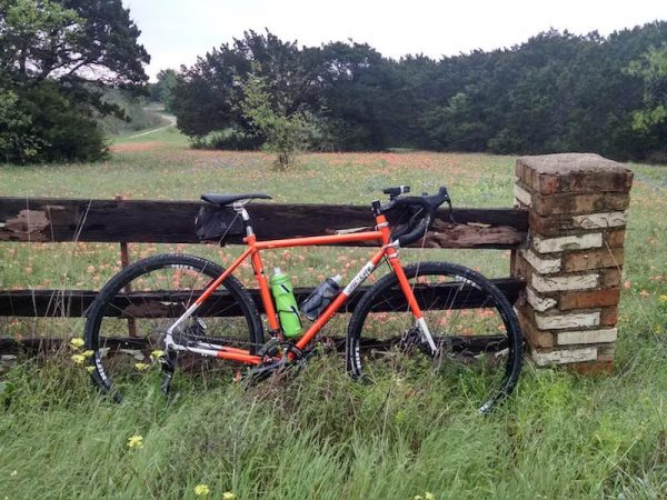 bikerumor pic of the day Springtime in central Texas. Bluebonnets and Indian Paintbrush. Temple, Texas