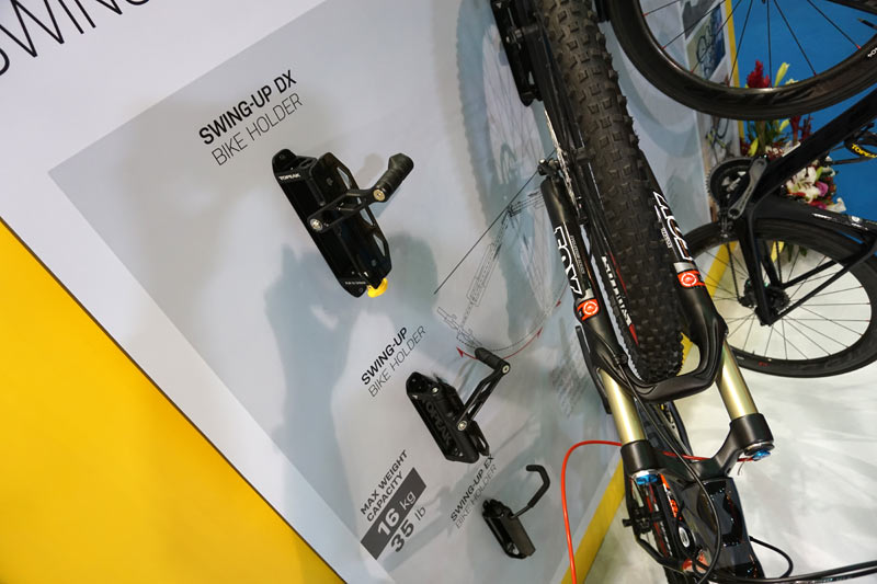 Lastly theyu0027re now offering wall-mounted bike storage that flips up and lets the bike swivel away. & TPE17: Topeak gets into bikepacking tents; then Triu0027s out for ...