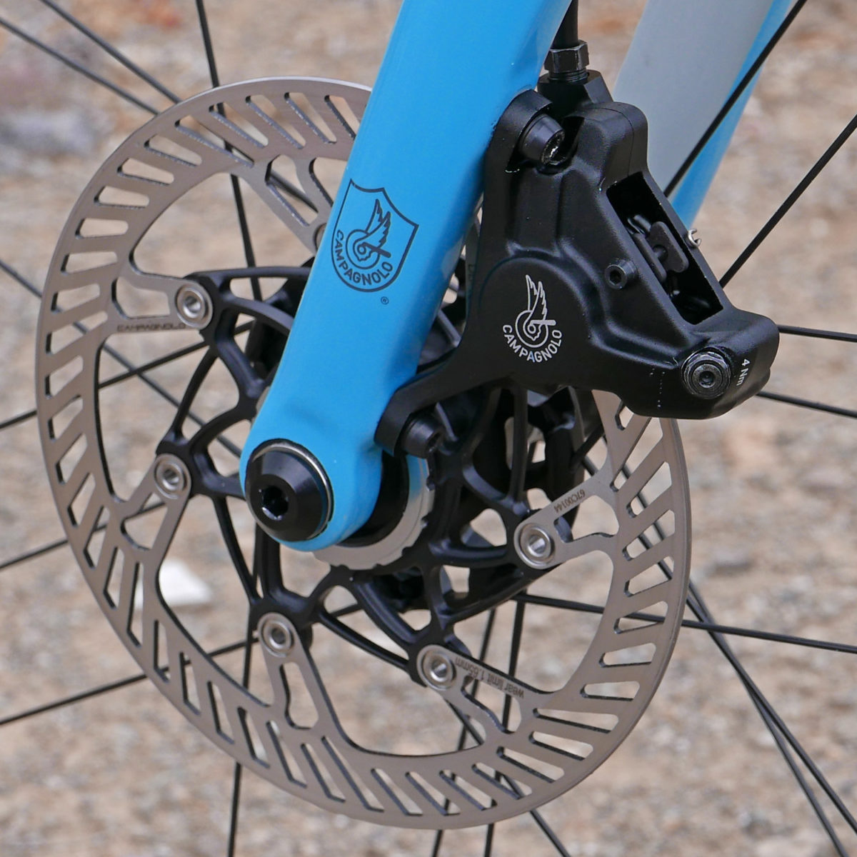 37c83227764 Campagnolo debuts hydraulic disc brakes all the way to affordable Potenza  11 alloy groupset