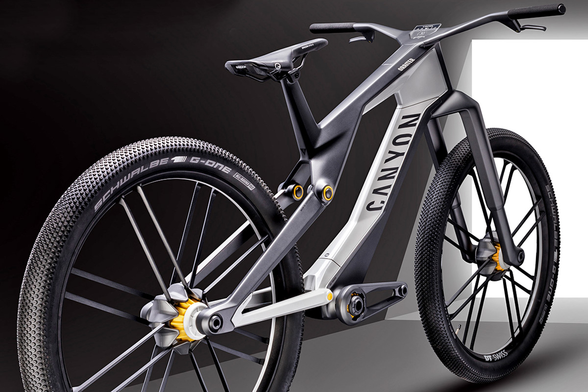 Canyon Orbiter urban concept bike pulls together magnetic ...