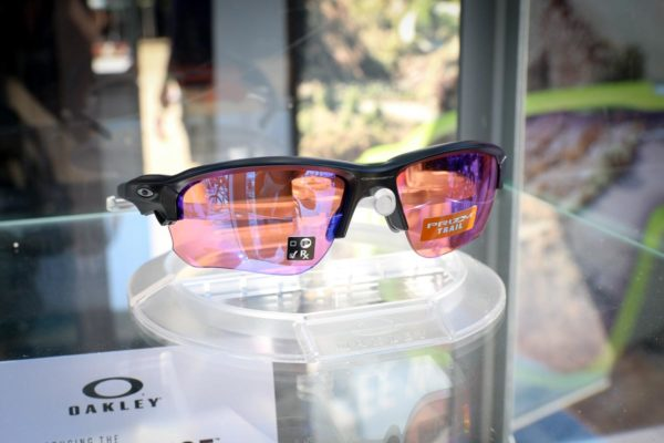 da5f1a3e08a Oakley clicks into Flak Draft with quick change Prizm lenses