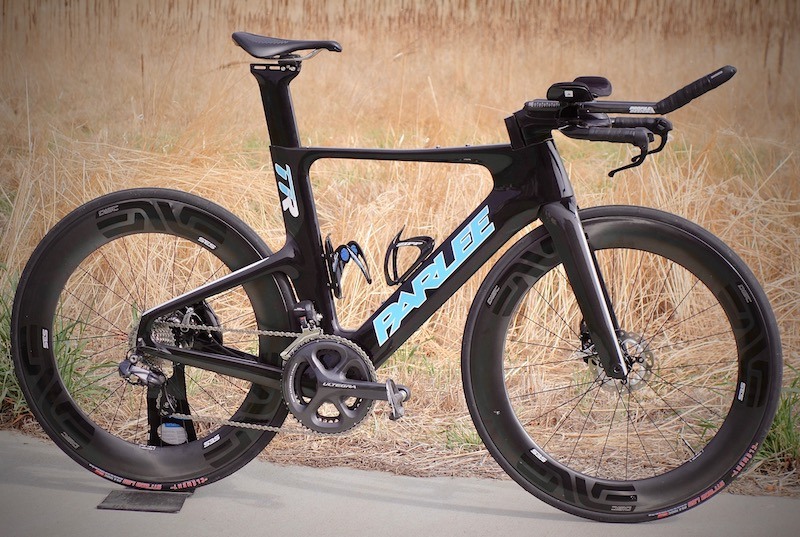parlee ttir triathlon bike with disc brakes review