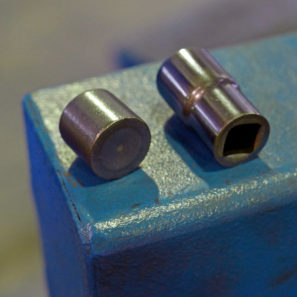 Unior Tool made in Europe Slovenia factory tour Part 1 Forging before and after forged sockets