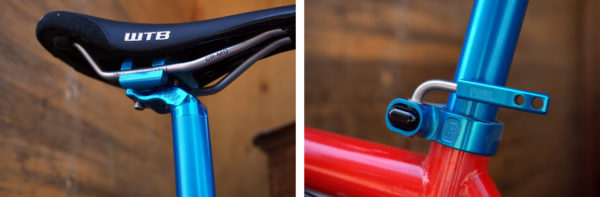 Paul Component limited edition Blue anodized components for 2017