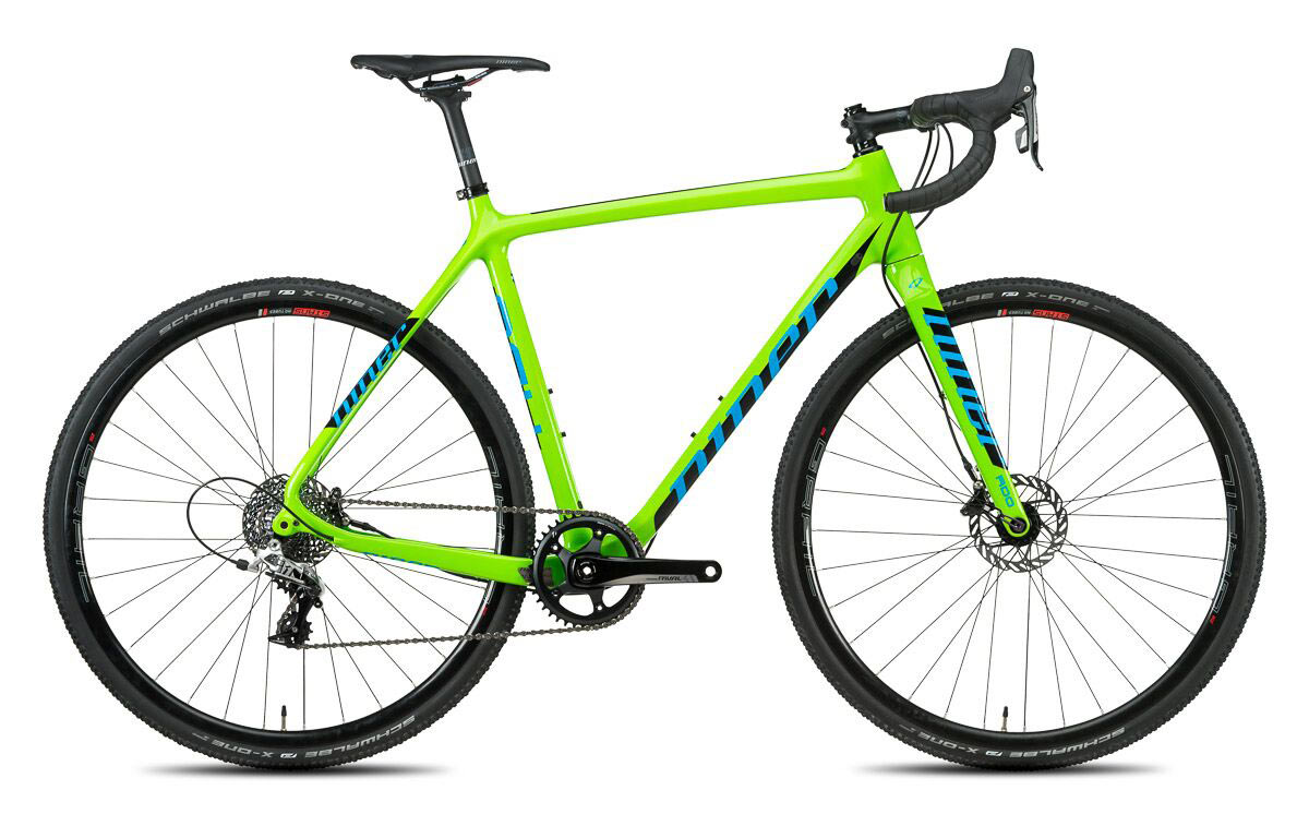 2017 Niner BSB 9 RDO carbon cyclocross race bike updated with flat mount brakes and new colors