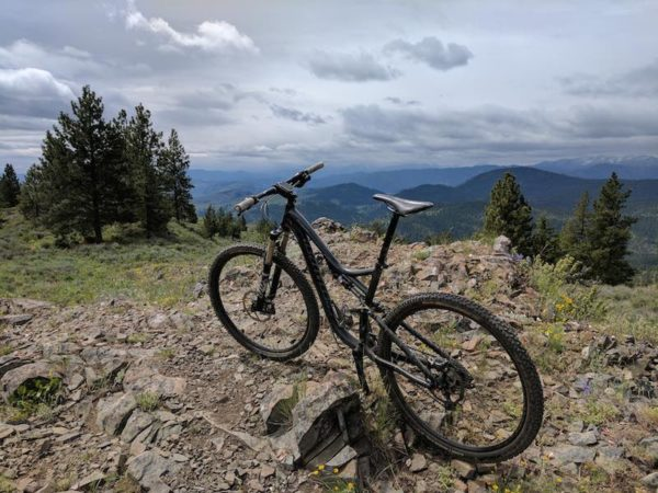 bikerumor pic of the day Methow Valley taken from the Buck Mountain trail near Winthrop, Washington state