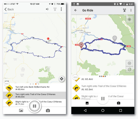 Ride With GPS update allows riders to record rides and ...