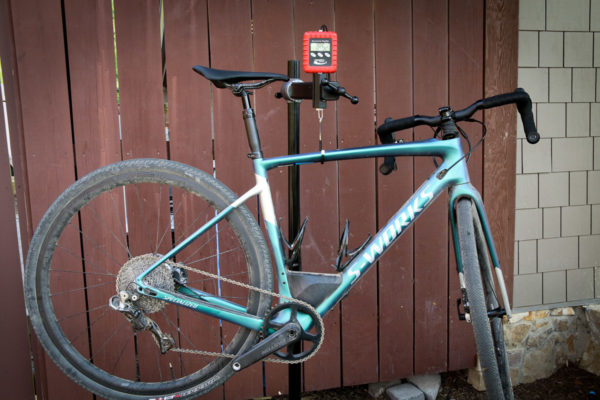 Specialized Diverge with future Shock 2018 actual weight
