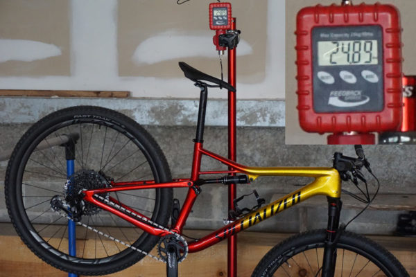 2018 Specialized Epic Expert actual weight