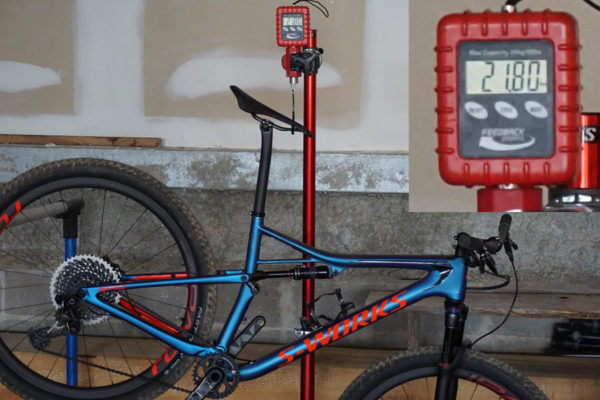 2018 Specialized Epic S-Works XX1 actual weight