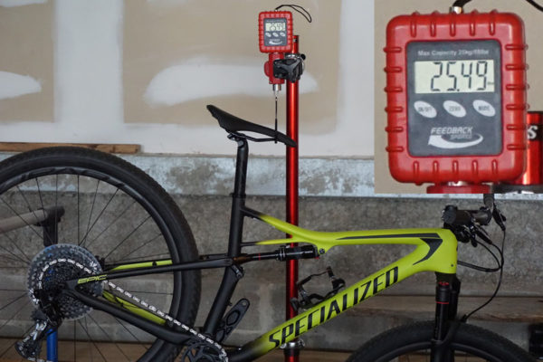 2018 Specialized Epic Carbon Expert actual weight