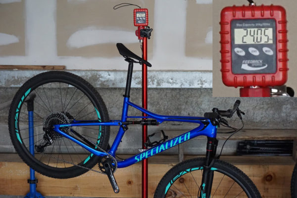 2018 Specialized Epic Carbon Pro actual weight painted