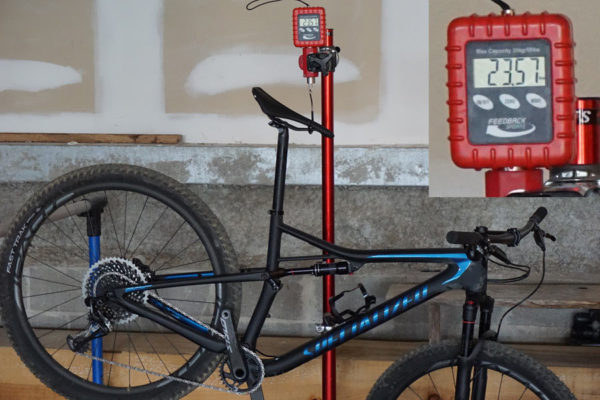 2018 Specialized Epic Carbon Pro actual weight