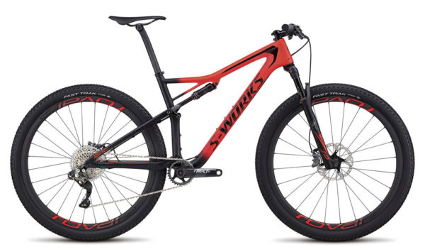 2018 Specialized Epic S-Works Di2 full suspension mountain bike