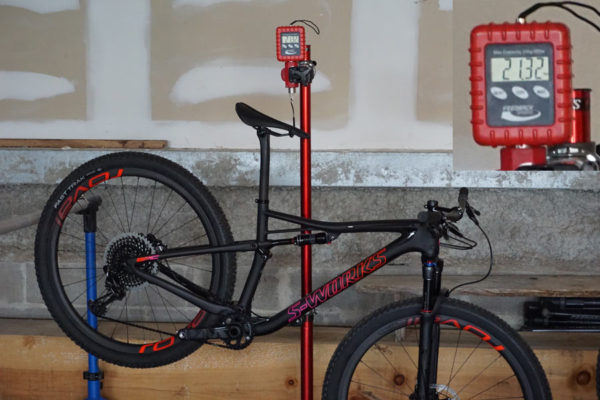 2018 Specialized Epic S-Works womens mountain bike actual weight