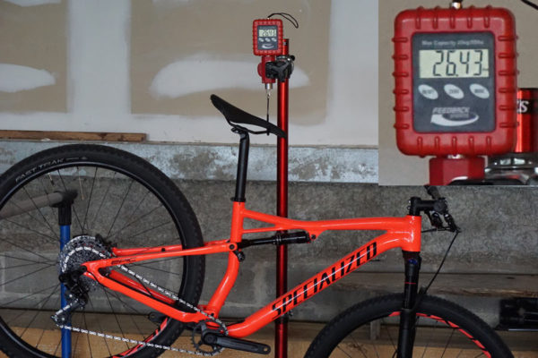 2018 Specialized Epic alloy comp actual weight