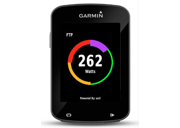 Baron Biosystems What's My FTP live Functional Threshold Power calculation Garmin Connect app complete