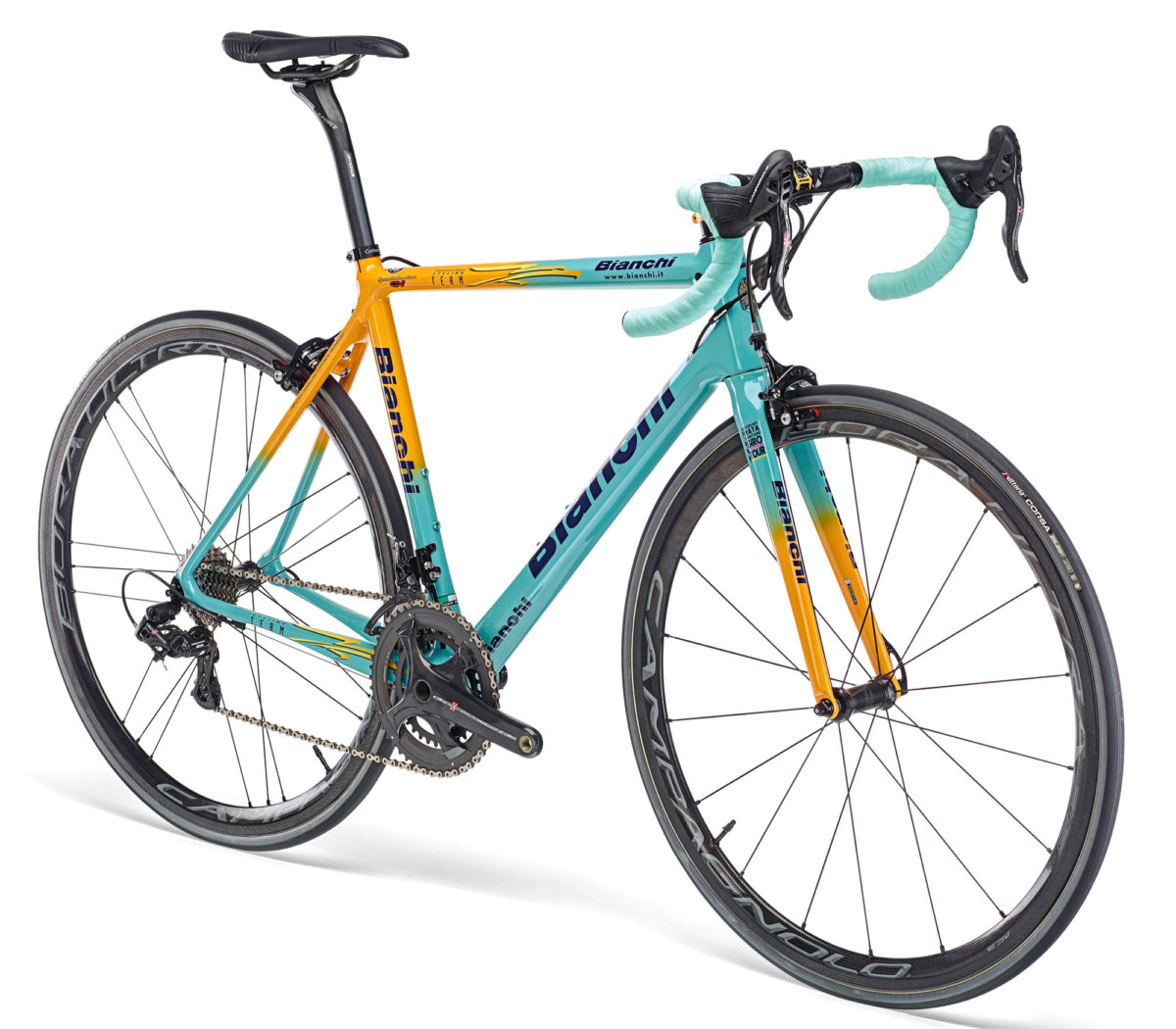 Bianchi paints up a limited 20th Anniversary run of Specialissima ...