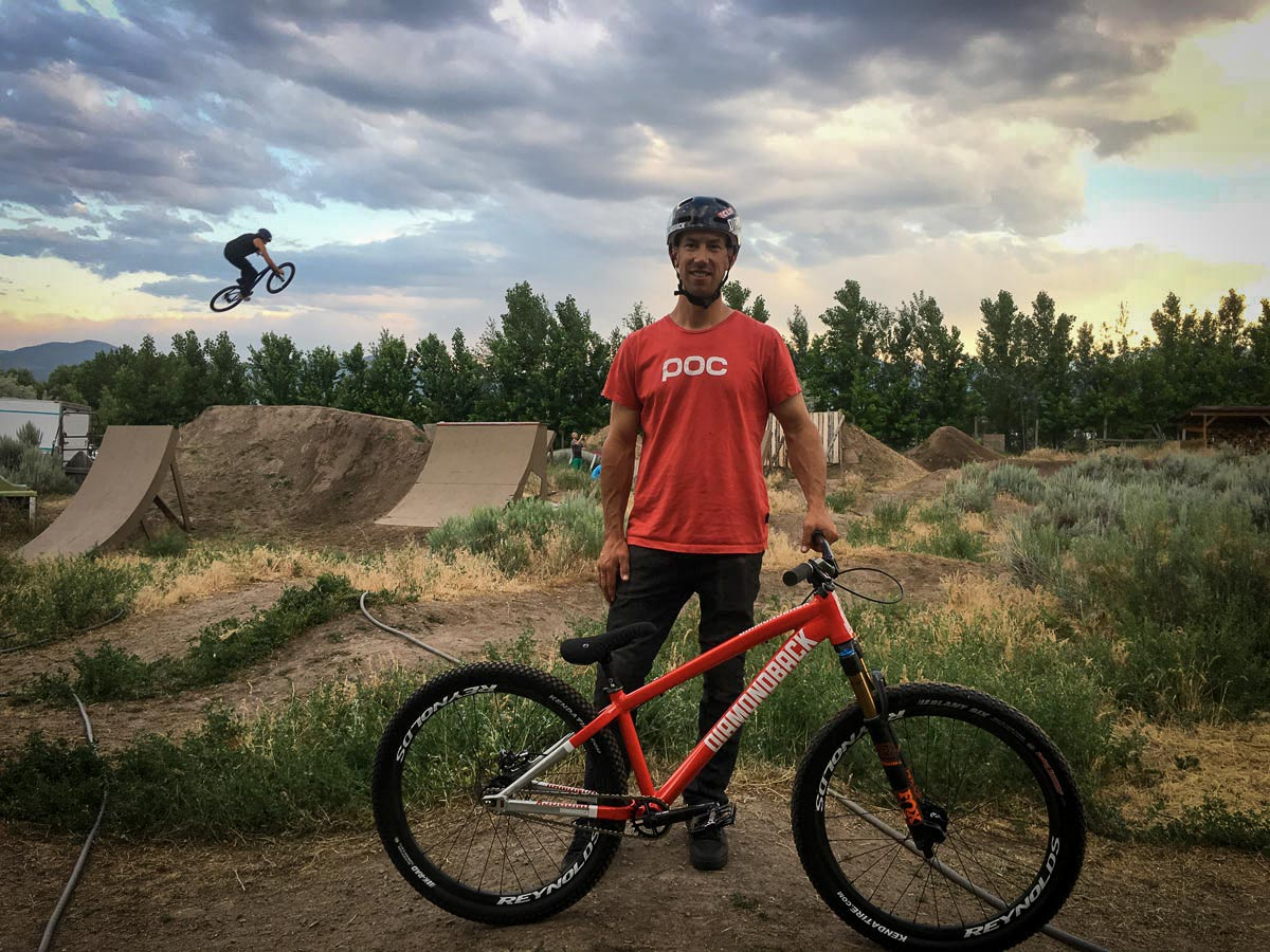 Eric Porter's backyard jumps and pumptrack are proof that dream yards do exist