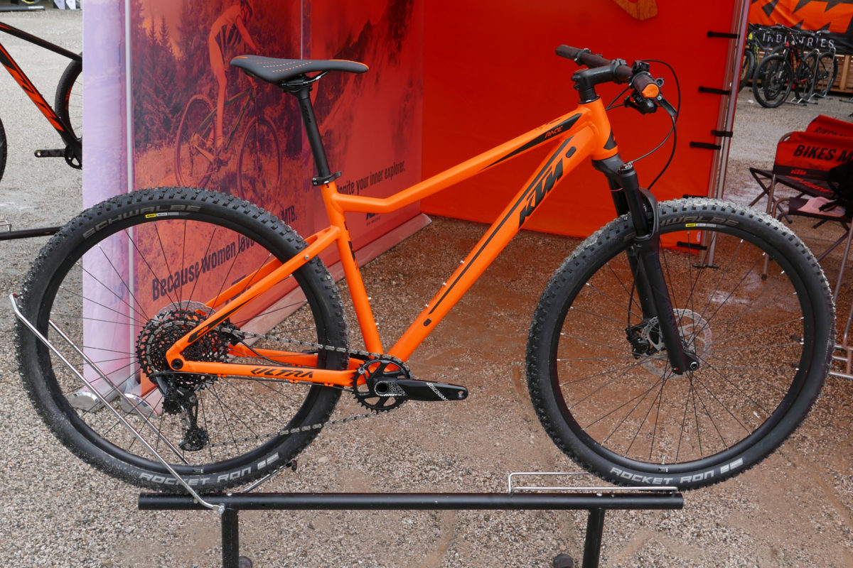 Ktm Prowler Prototype Carbon All Mountain Bike Ready For