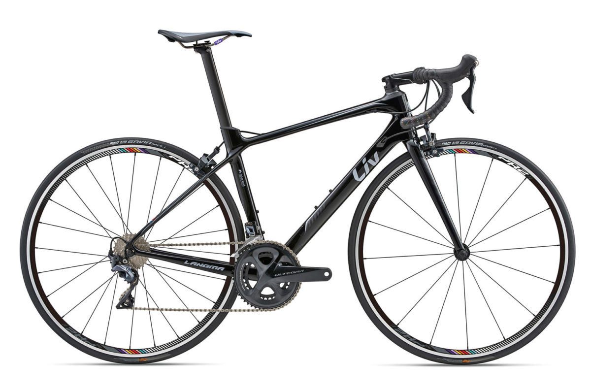 liv langma ultralight women u0026 39 s road bike races to the hills with disc or rim brakes