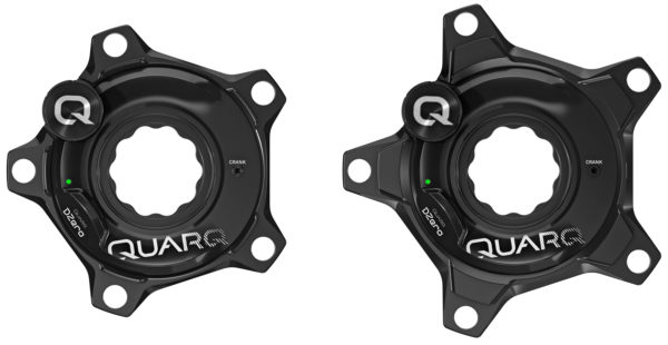 Quarq DZero power meter aluminum spider DZero for Specialized S-Works carbon crank arm compatible 110mm or 130mm 5-bolt BCD