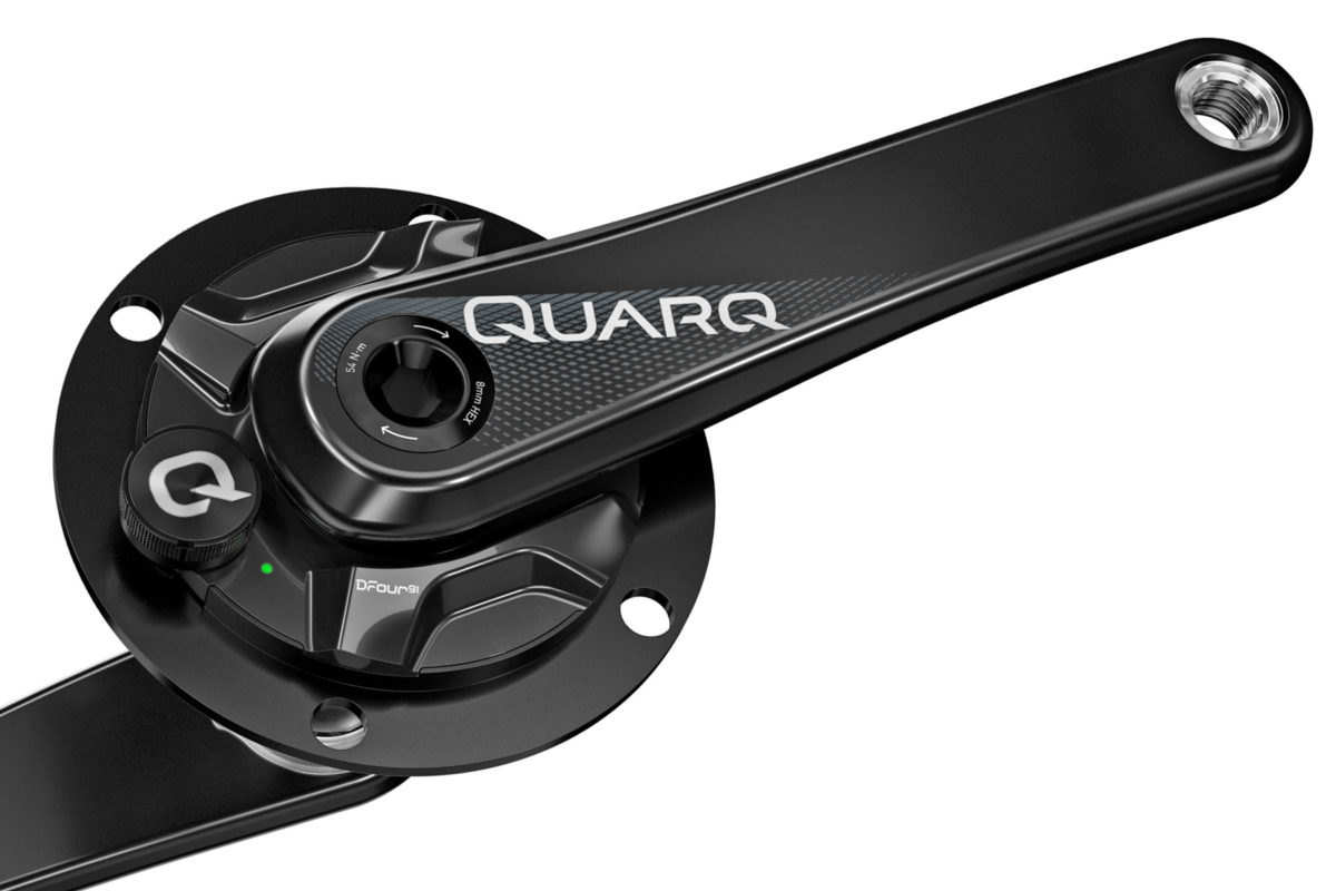 Quarq Power Meter : Quarq adds dzero power meter compatibility to dura ace
