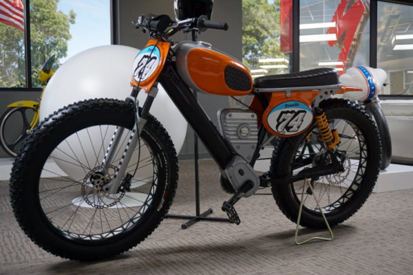 Specialized concept moto and e-bikes from their headquarters tour and museum visit