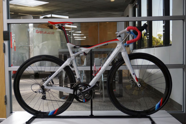 specialized concept bike museum with prototype Scrambled Egger full suspension gravel bike