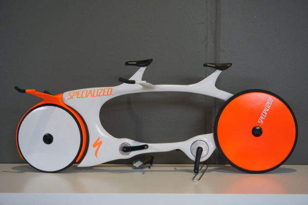 specialized concept bike museum with prototype tandem TT bike