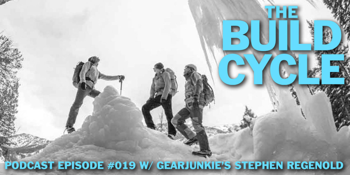 Build Cycle podcast interview with Stephen Regenold of GearJunkie