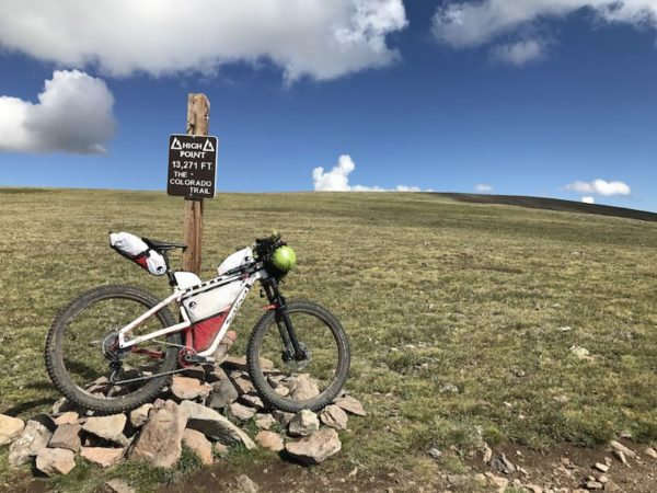 bikerumor pic of the day backpacking the colorado trail