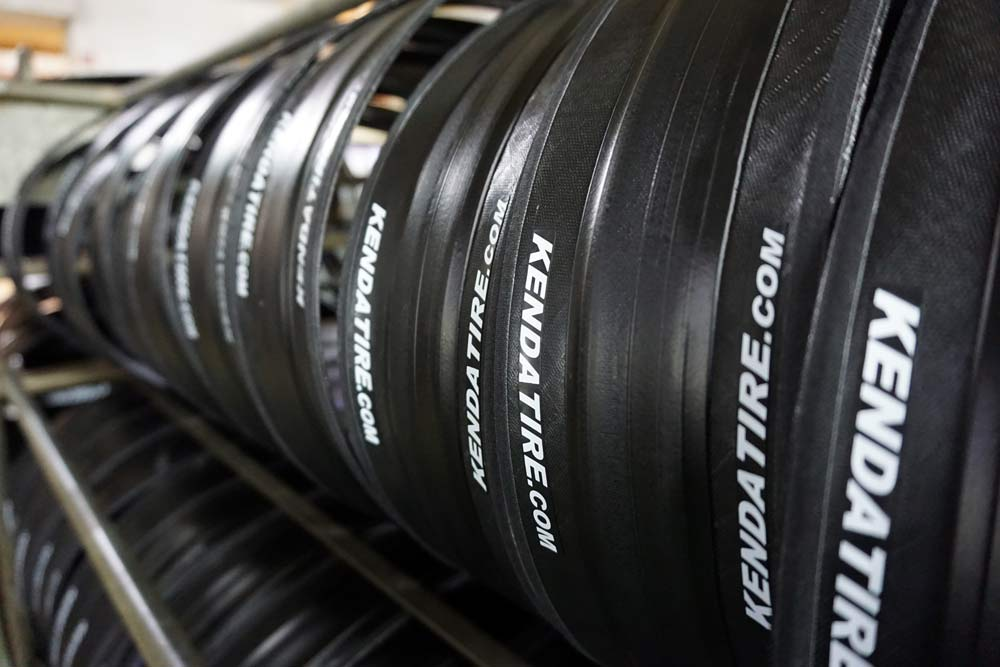 Kenda Tire factory tour shows how to make bicycle tires