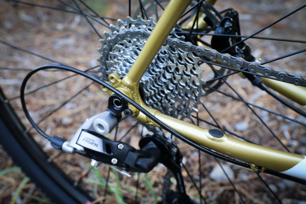 All City Cosmic Stallion combines thru axles and A.C.E. tubing for their lightest disc frame yet saddle drive