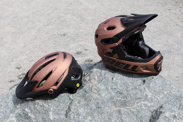 Bell 2018 Sixer and Super DH helmets