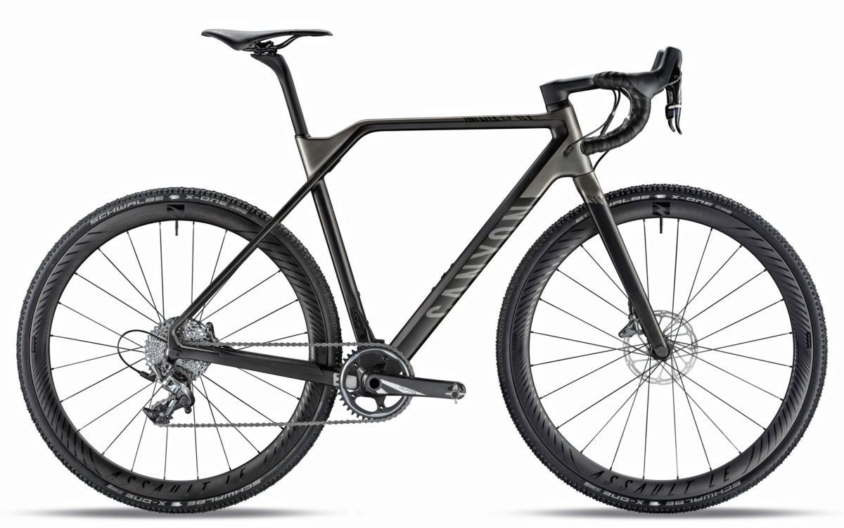 2018 canyon inflite cf slx carbon cyclocross bike hops up in time for cross