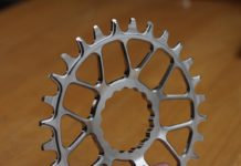 KA Engineering titanium chainring, Cinch 28t