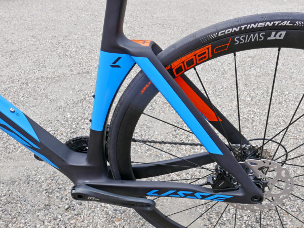 KTM Revelator Lisse fully-integrated cockpit carbon disc-brake aero road bike rear triangle