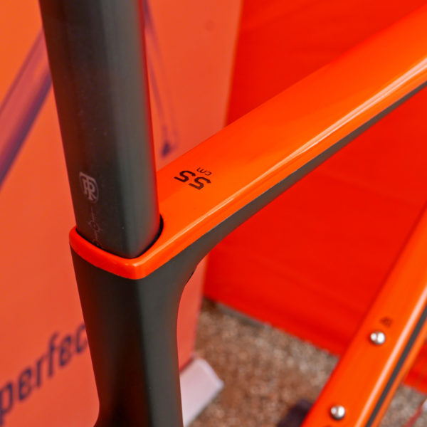KTM Revelator Lisse fully-integrated cockpit carbon disc-brake aero road bike Ritchey seatpost