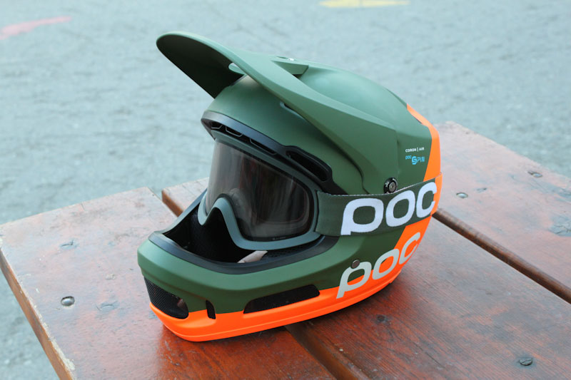 POC SPIN technology, Coron Air full face