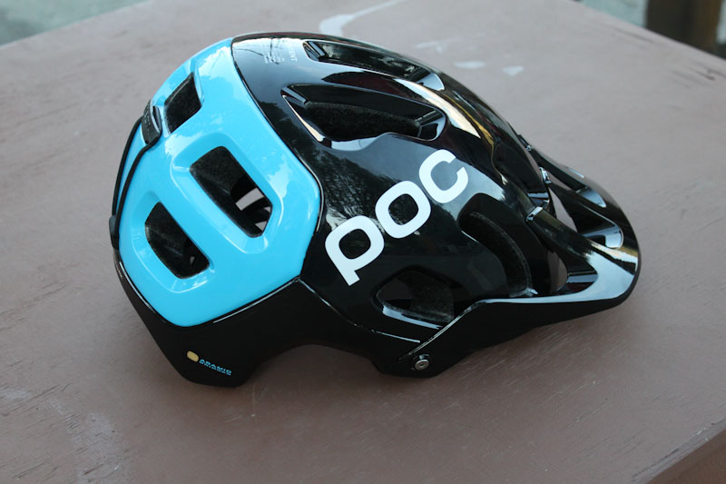 POC SPIN technology, Tectal Race, side