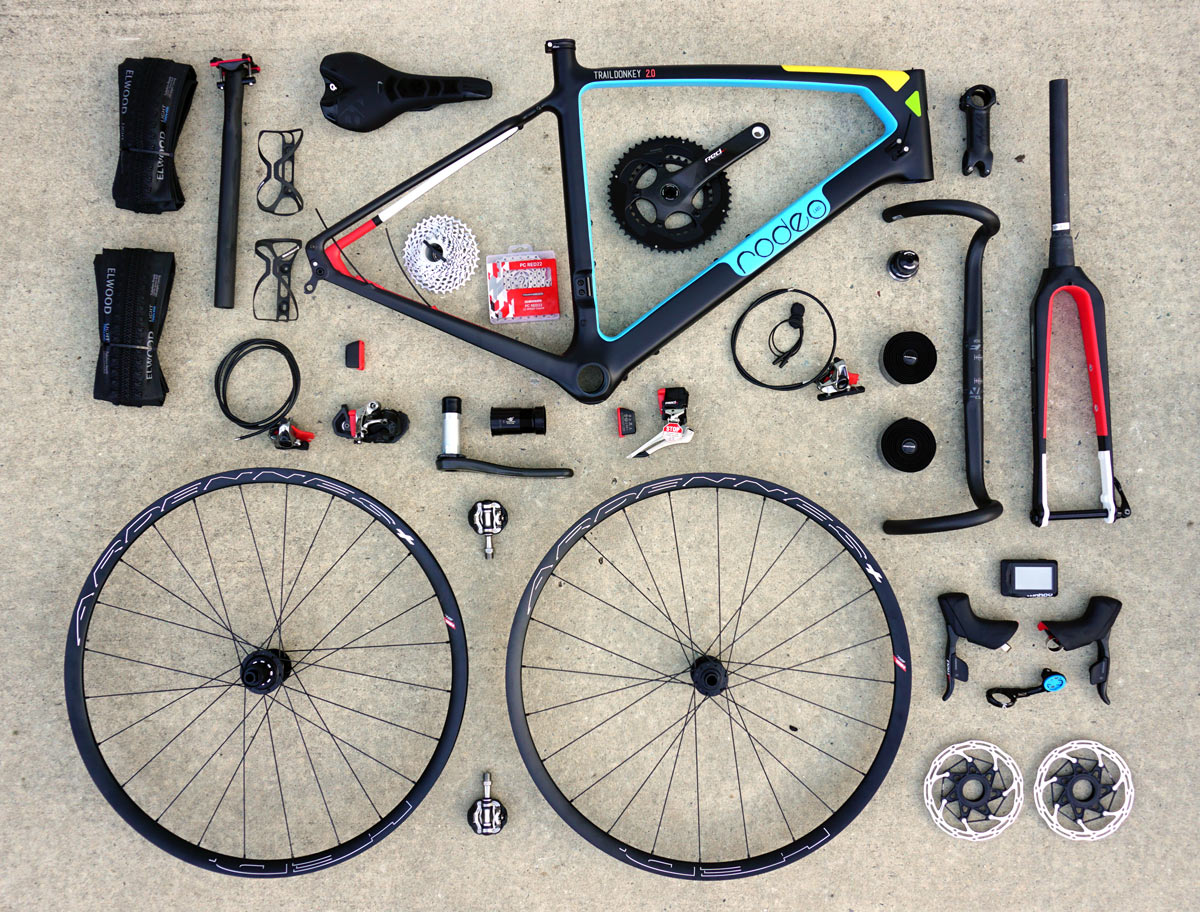 Worlds Funnest Bike 3 - Rodeo Labs Trail Donkey 2 carbon drop bar adventure gravel road bike build out
