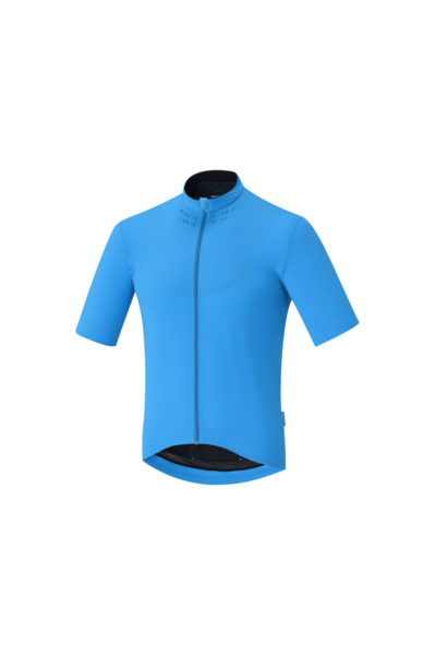 Shimano evolve jersey front blue