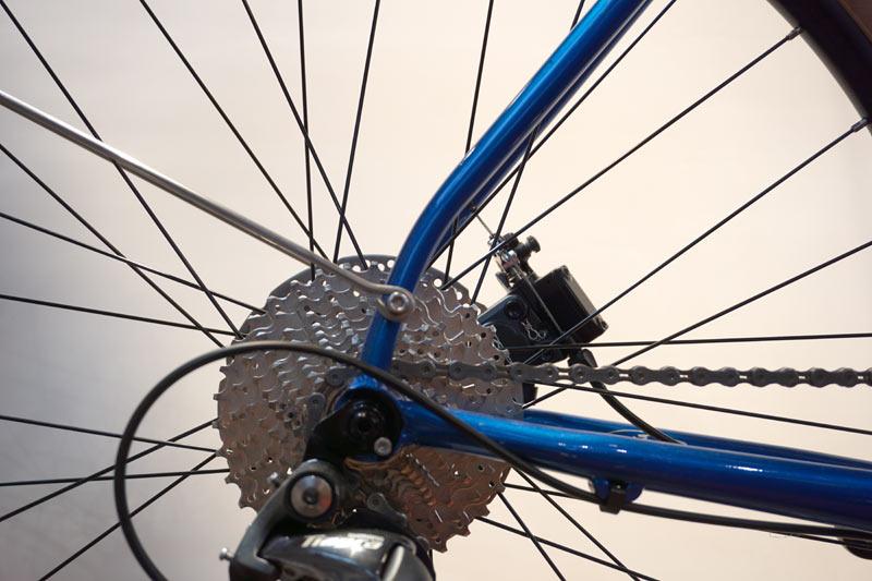 2018 Breezer Doppler Pro 650B steel touring road bike with disc brakes