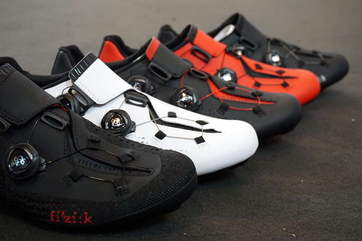 2018 Fizik R1 Infinito and X5 Terra gravel and road bike cycling shoes